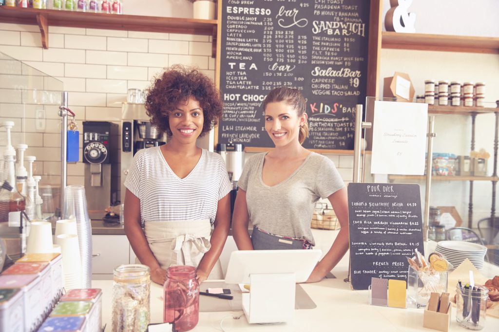 women-owned coffee shop