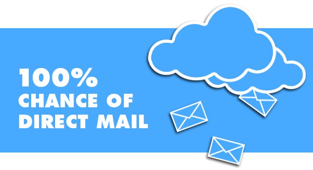 100% Chance of Direct Mail