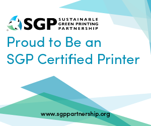 Proud to Be an SGP Certified Printer